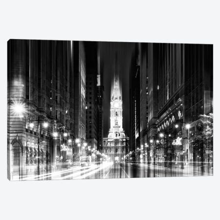 Urban Stretch Series - City Hall - Philadelphia Canvas Print #PHD76} by Philippe Hugonnard Canvas Art