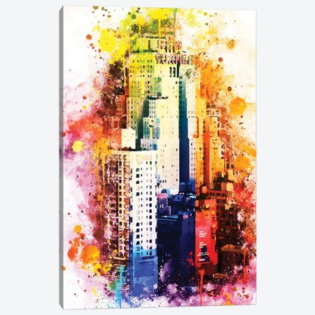 The New Yorker Canvas Print #PHD779} by Philippe Hugonnard Canvas Art
