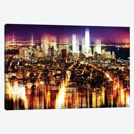 Manhattan Buildings Canvas Print #PHD77} by Philippe Hugonnard Canvas Art