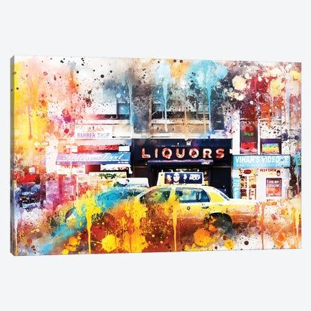 Urban Taxi Canvas Print #PHD786} by Philippe Hugonnard Canvas Art