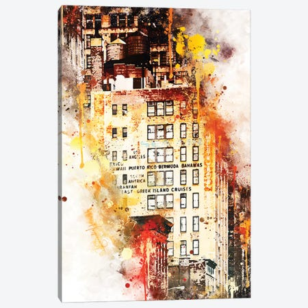 US Building Canvas Print #PHD788} by Philippe Hugonnard Canvas Art Print