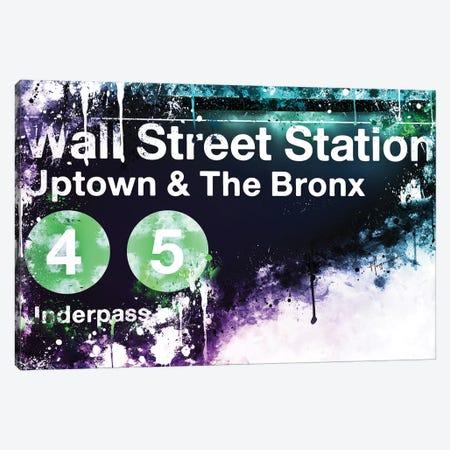 Wall Street Station Canvas Print #PHD791} by Philippe Hugonnard Canvas Artwork