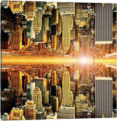 Double Sided - Manhattan Canvas Art Print