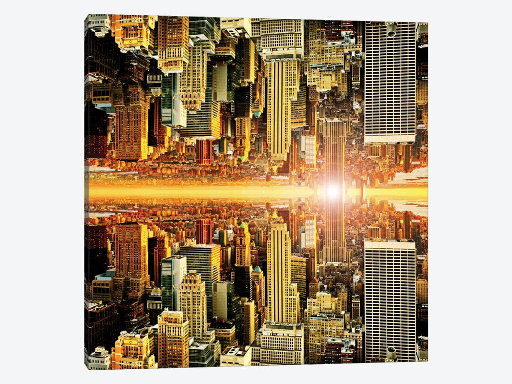 Double Sided - Manhattan by Philippe Hugonnard 1-piece Canvas Print
