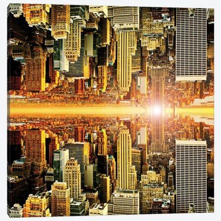Manhattan Canvas Print #PHD7} by Philippe Hugonnard Art Print
