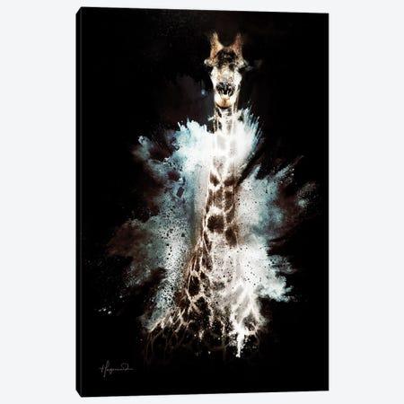 The Giraffe Canvas Print #PHD801} by Philippe Hugonnard Canvas Art