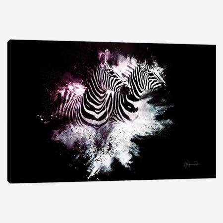 The Zebras Canvas Print #PHD806} by Philippe Hugonnard Canvas Print
