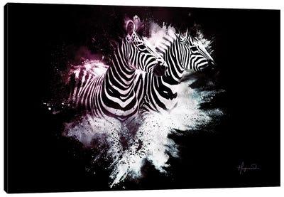 The Zebras Canvas Art Print