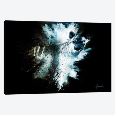 The Hyena Canvas Print #PHD807} by Philippe Hugonnard Canvas Print