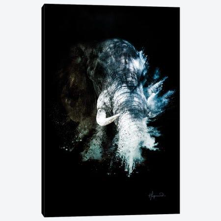 The Elephant II Canvas Print #PHD808} by Philippe Hugonnard Canvas Wall Art