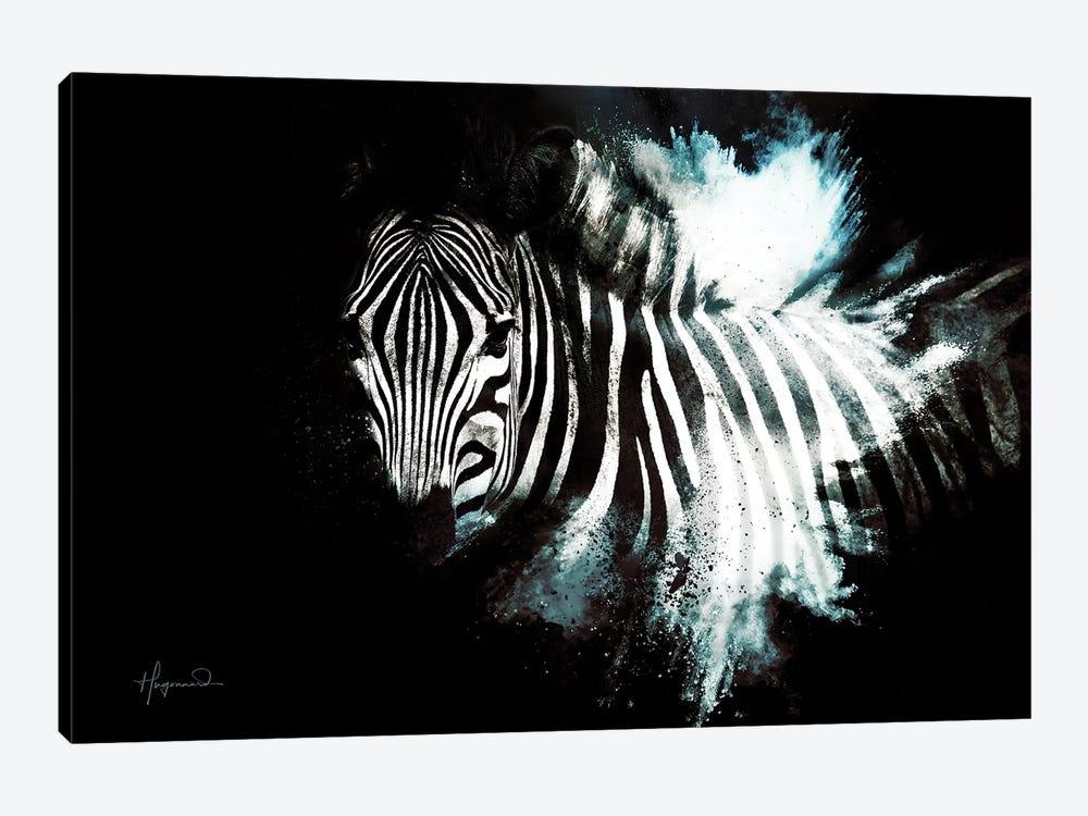 The Zebra II by Philippe Hugonnard 1-piece Canvas Artwork