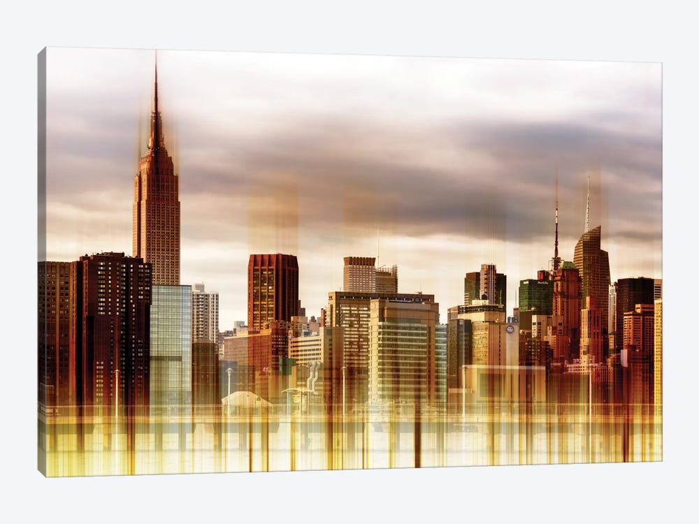 Urban Stretch Series - New York City by Philippe Hugonnard 1-piece Canvas Art Print