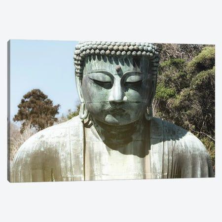 Kamakura Great Buddha Canvas Print #PHD820} by Philippe Hugonnard Canvas Art