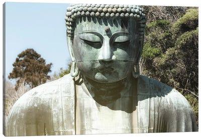 Kamakura Great Buddha Canvas Art Print