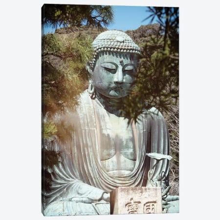 Kamakura Great Buddha I Canvas Print #PHD821} by Philippe Hugonnard Canvas Art