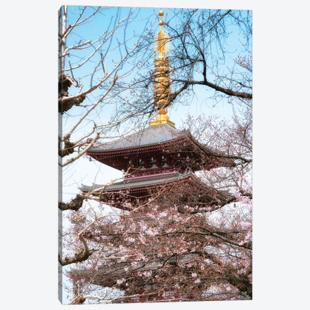 Pagoda Senjo-Ji Canvas Print #PHD827} by Philippe Hugonnard Canvas Print