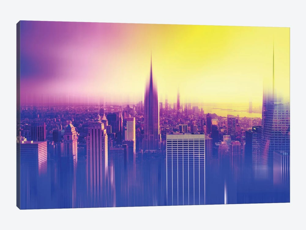 Urban Stretch Series - New York Colors by Philippe Hugonnard 1-piece Canvas Art
