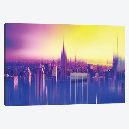 New York Colors Canvas Print #PHD82} by Philippe Hugonnard Canvas Wall Art