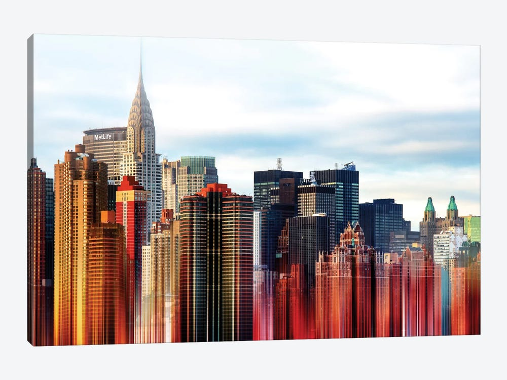 Urban Stretch Series - New York by Philippe Hugonnard 1-piece Canvas Art Print