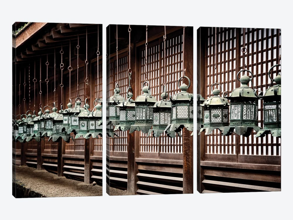 Sacred Lanterns by Philippe Hugonnard 3-piece Art Print