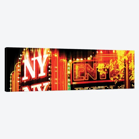 NY Sign Canvas Print #PHD84} by Philippe Hugonnard Canvas Art Print