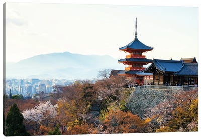 Pagoda Kiyomizu-Dera Temple Canvas Art Print