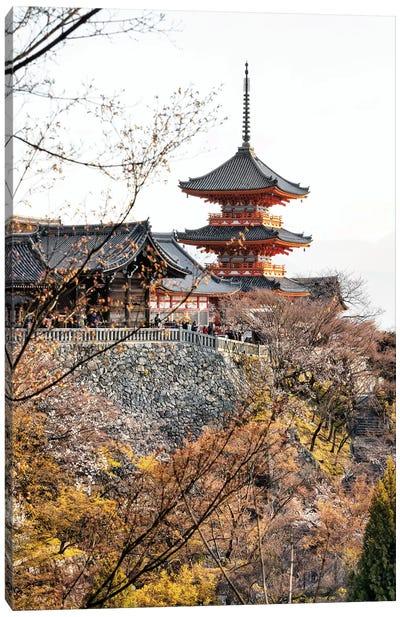 Pagoda Kiyomizu-Dera Temple II Canvas Art Print
