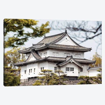 Japanese White Temple Canvas Print #PHD872} by Philippe Hugonnard Art Print