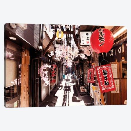 Omoide Yokocho Shinjuku Canvas Print #PHD873} by Philippe Hugonnard Art Print