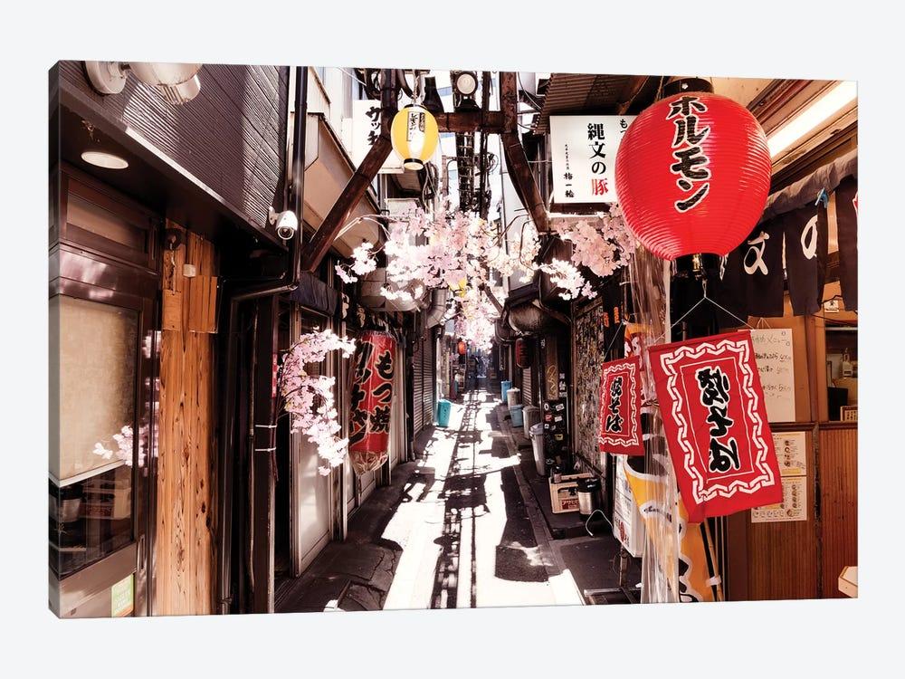 Omoide Yokocho Shinjuku by Philippe Hugonnard 1-piece Canvas Print