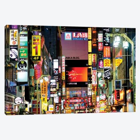 Shinjuku Tokyo Canvas Print #PHD875} by Philippe Hugonnard Canvas Art