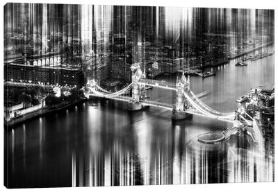 Urban Stretch Series - Tower Bridge - London Canvas Print #PHD87