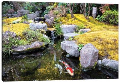Japanese River Canvas Art Print