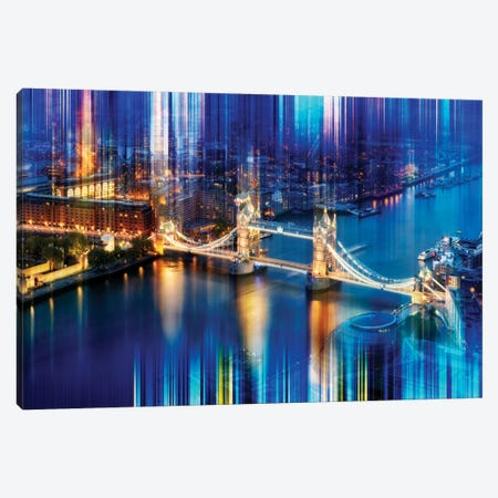 Urban Stretch Series - Tower Bridge Canvas Print #PHD88} by Philippe Hugonnard Canvas Wall Art
