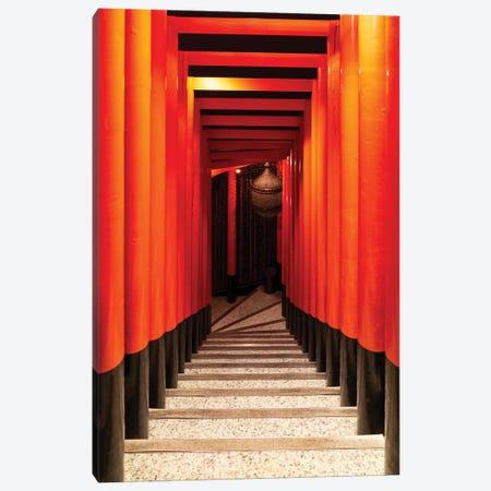 Japanese Staircase Canvas Print #PHD890} by Philippe Hugonnard Canvas Art Print