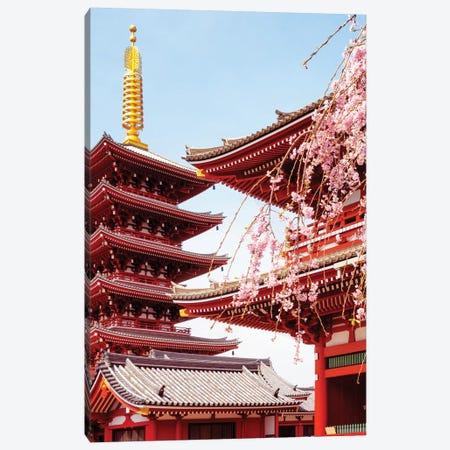 Senso-Ji Pagoda II Canvas Print #PHD892} by Philippe Hugonnard Canvas Print