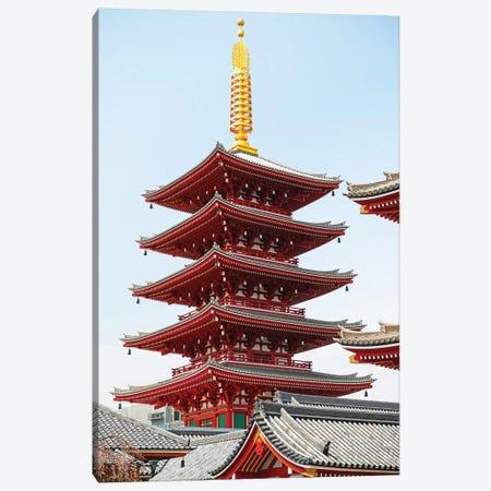 Senso-Ji Pagoda III Canvas Print #PHD893} by Philippe Hugonnard Art Print