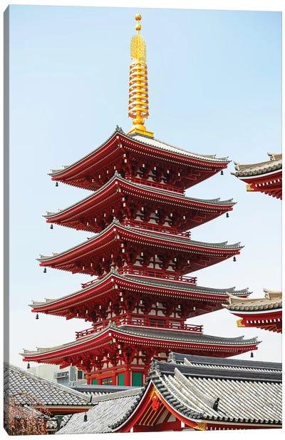 Senso-Ji Pagoda III Canvas Art Print