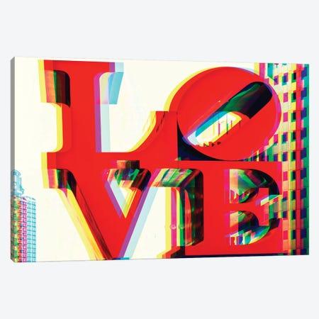 Love Canvas Print #PHD91} by Philippe Hugonnard Canvas Print