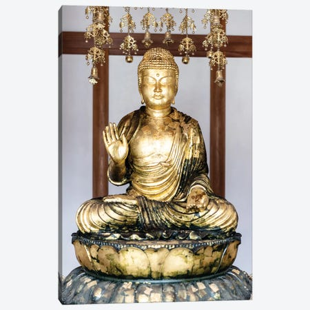 Golden Buddha Canvas Print #PHD920} by Philippe Hugonnard Art Print