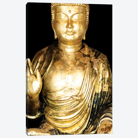 Golden Buddha III Canvas Print #PHD922} by Philippe Hugonnard Canvas Print