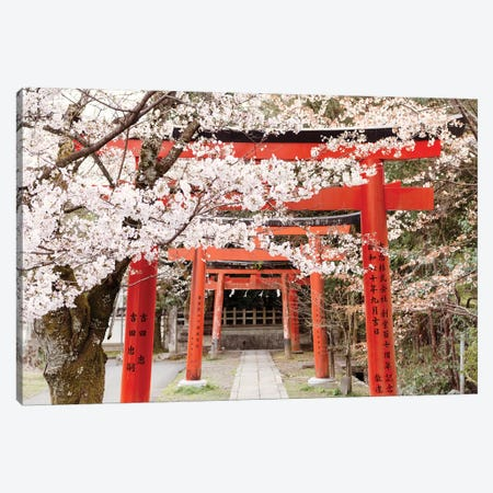 Yoshida Shrine Torii Canvas Print #PHD927} by Philippe Hugonnard Canvas Wall Art