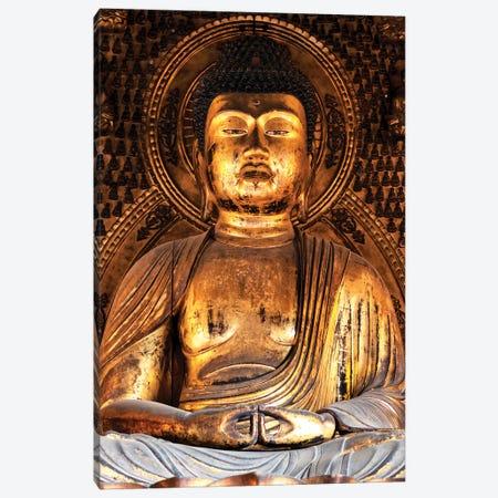 Golden Buddha Temple Canvas Print #PHD929} by Philippe Hugonnard Canvas Art Print