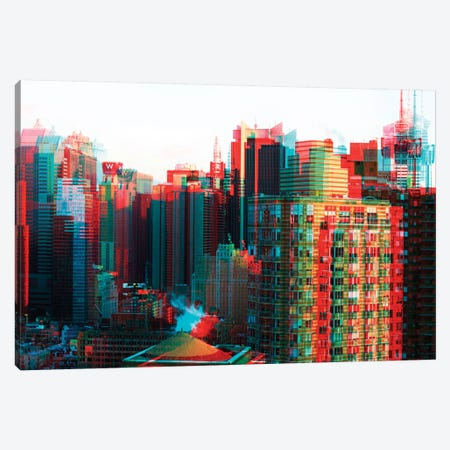 After Twitch Series - Manhattan Canvas Print #PHD92} by Philippe Hugonnard Canvas Print