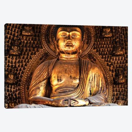 Golden Buddha Temple II Canvas Print #PHD930} by Philippe Hugonnard Canvas Wall Art