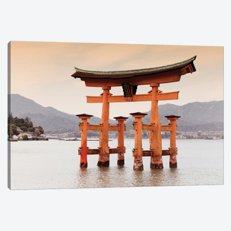 Miyajima Torii Canvas Print #PHD931} by Philippe Hugonnard Canvas Wall Art