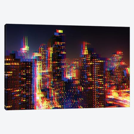 After Twitch Series - NYC Canvas Print #PHD93} by Philippe Hugonnard Canvas Art Print