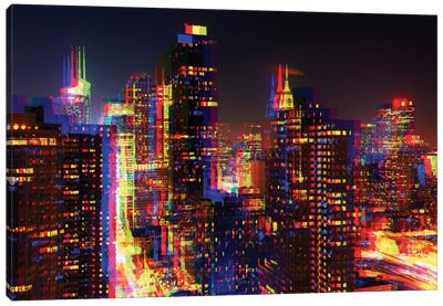 After Twitch Series - NYC Canvas Art Print
