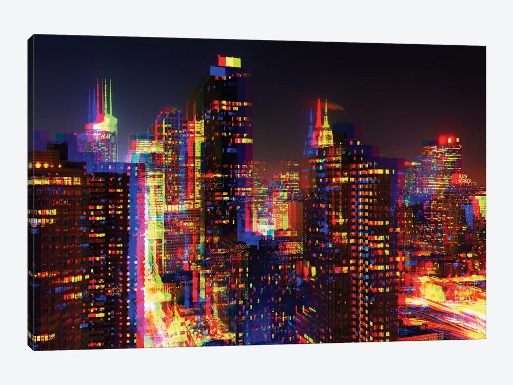 NYC by Philippe Hugonnard 1-piece Canvas Wall Art