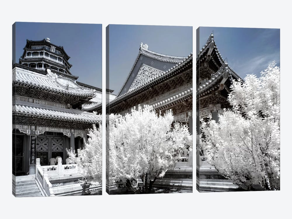 Another Look At China II by Philippe Hugonnard 3-piece Canvas Artwork